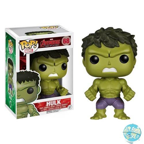Avengers AOU - Hulk Figur - POP: Funko