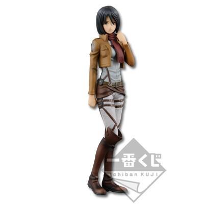 Attack on Titan - Mikasa Ackerman Figur / Ichiban Kuji: Banpresto