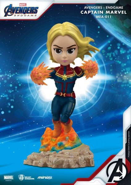 Avangers - Captain Marvel Figur / Mini Egg Attack : Beast Kingdom Toys
