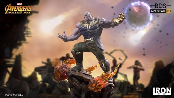 Avengers Infinity War - Thanos Statue / BDS Art: Iron Studios