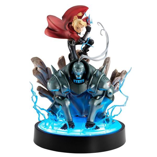 Fullmetal Alchemist - Edward & Alphonse Statue / Precious - G.E.M. Series: MegaHouse