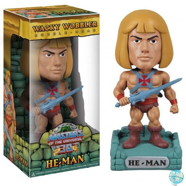 Masters of the Universe - He-Man Wackelkopf-Figur - Wacky Wobbler: Funko