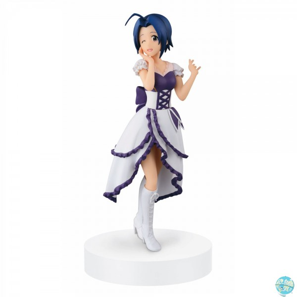 Idolmaster - Azusa Miura Figur - SQ / Stage Dress: Banpresto