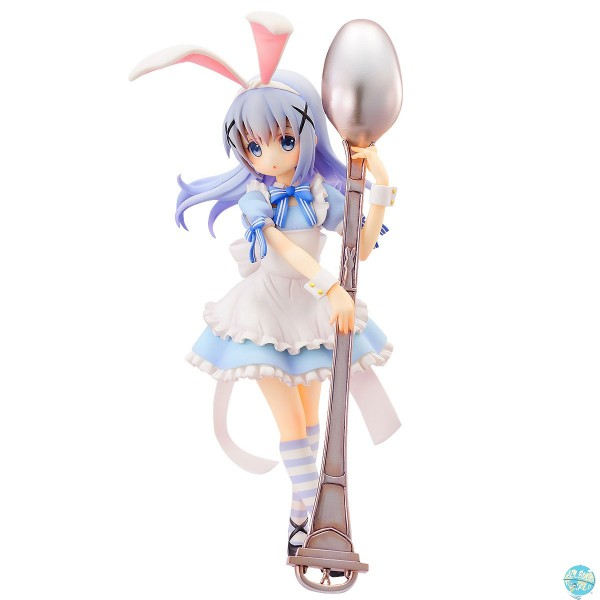 Is the Order a Rabbit - Chino Statue - Alice Style Version: AquaMarine