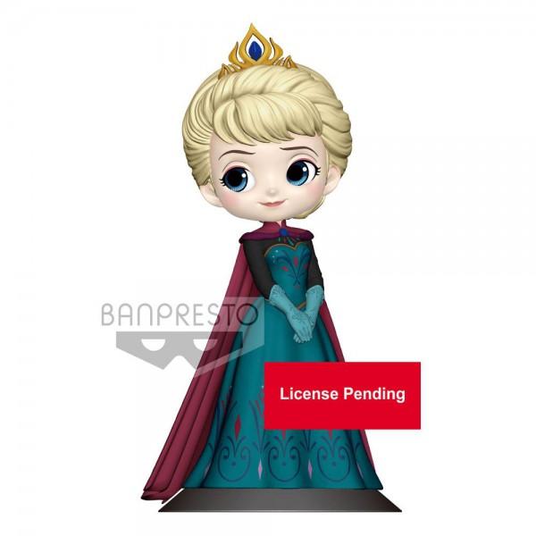 Disney - Elsa Figur / Q Posket - Coronation Style A - Normal Color Version: Banpresto