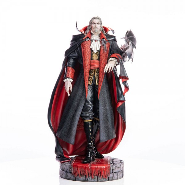 Castlevania Symphony of the Night - Dracula Statue: First 4 Figures