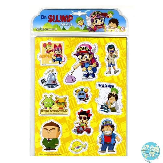Dr.Slump - 11-teiliges Magnetset: SD Toys