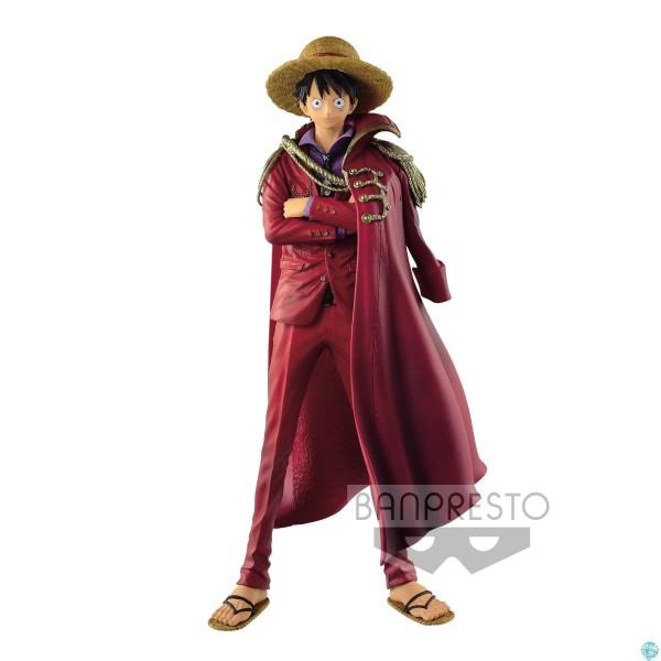 One Piece - Ruffy Figur - King Of Artist / 20th Anniversary: Banpresto