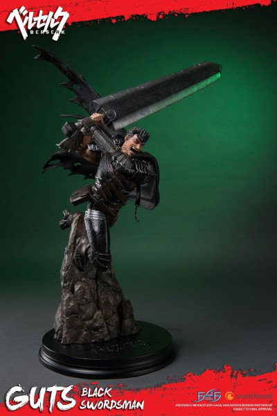 Beserk - Guts Statue / Black Swordsmen: First 4 Figures