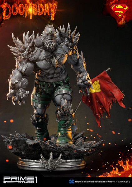 DC Comics - Doomsday Statue: Prime 1 Studio