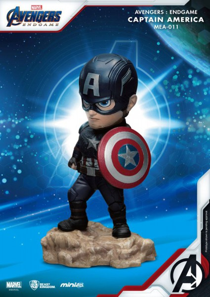 Avangers - Captain America Figur / Mini Egg Attack : Beast Kingdom Toys