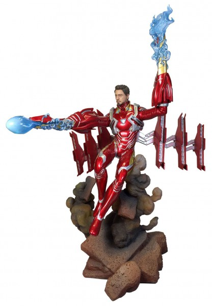 Avengers Infinity War - Iron Man Statue / Movie Gallery - MK50 Unmasked: Diamond Select