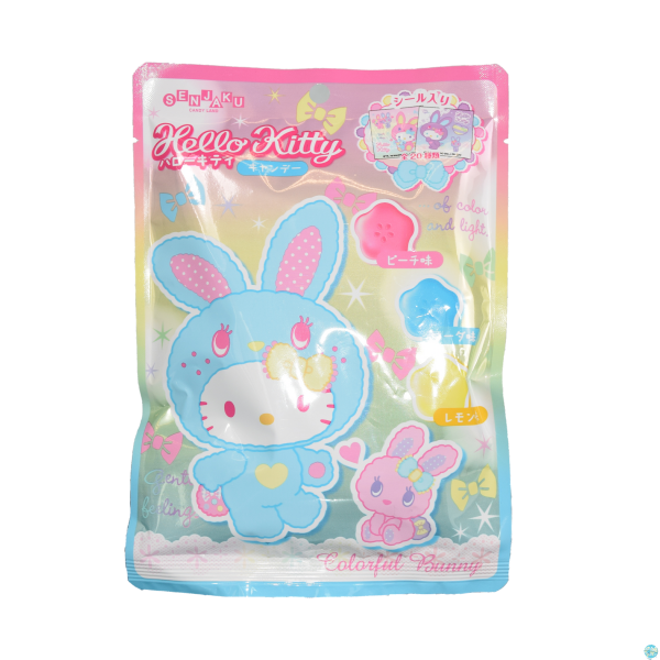 Hello Kitty - Fruchtbonbons Colorful Bunny / Blaue Edition 75g
