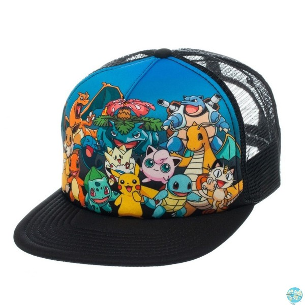 Pokemon - Characters Trucker Cap: Bioworld