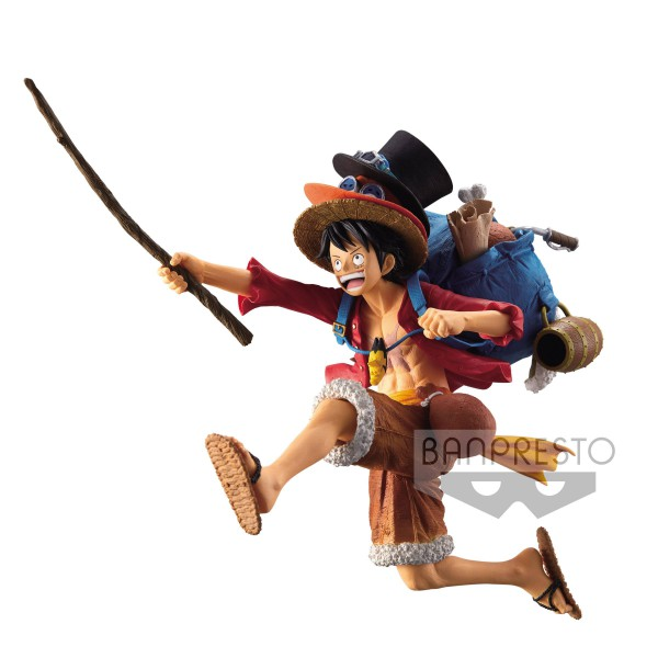 One Piece - Ruffy Figur / SP Design Version: Banpresto