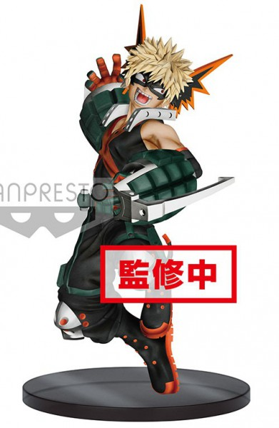 My Hero Academia - Bakugou Figur / The Amazing Heroes - Vol.3: Banpresto