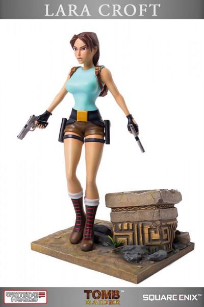 Tomb Raider - Lara Croft Statue / 20th Anniversary Series - Regular Version: Gaming Heads