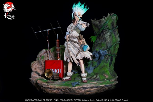 Dr.Stone - Senku Ishigami Statue: Kitsune