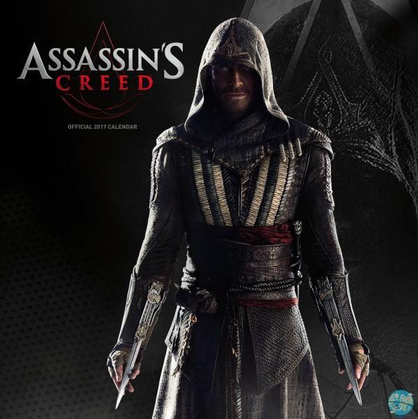 Assassin's Creed - Kalender 2017 *Englische Version*: Danilo