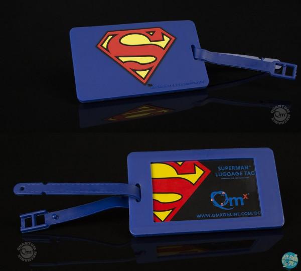 DC Comics - Superman Kofferanhänger - Q-Tag: Quantum Mechanix