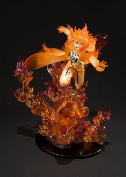 Naruto Shippuden - Minato Namikaze Statue / FiguartsZERO - Kurama: Bandai