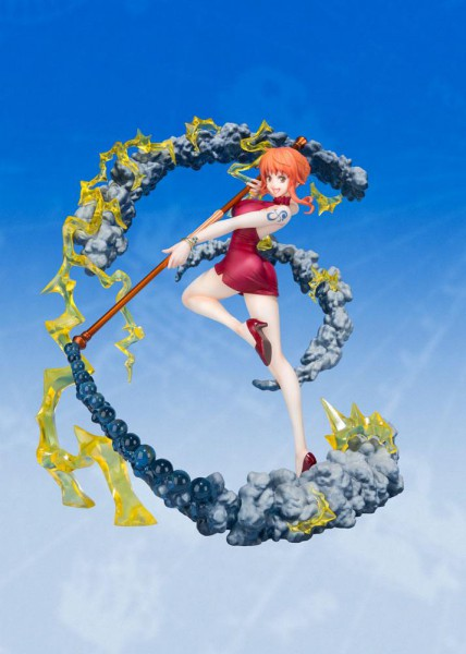 One Piece - Nami Figur / Black Ball Version: Bandai