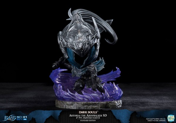 Dark Souls - Artorias der Abgrundschreiter Statue / Super Deformed Version: First 4 Figures