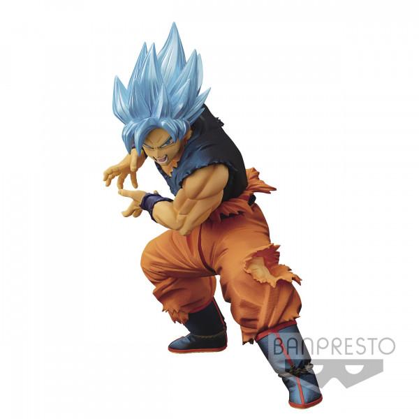 Dragon Ball Super - SSGSS Son Goku Figur / Maximatic: Banpresto