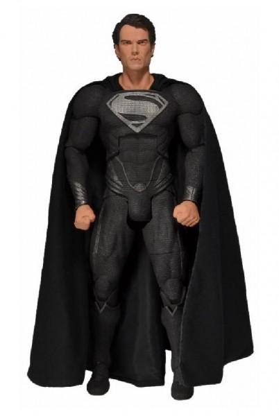 Man of Steel - Superman Actionfigur - Black Suit: NECA