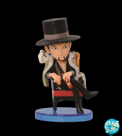 One Piece Lucci Banpresto World Collectible Figure (WCF) Vol.1 6cm