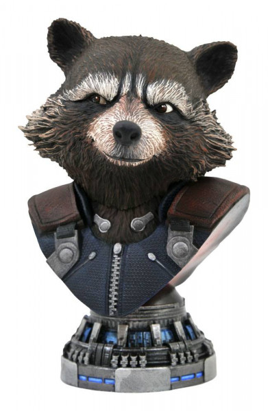 Avengers Endgame - Rocket Raccoon Büste / Legends in 3D: Diamond Select