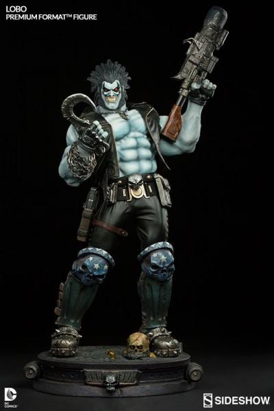 DC Comics - Lobo Statue: Sideshow Collectibles