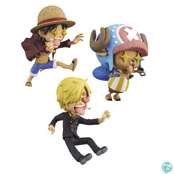 One Piece - Luffy, Chopper & Sanji Minifiguren-Set / Picoocha!: Banpresto
