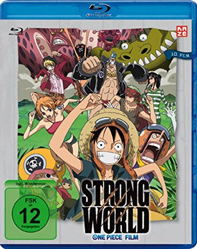 One Piece – 10. Film: Strong World / Blu-ray: Kaze