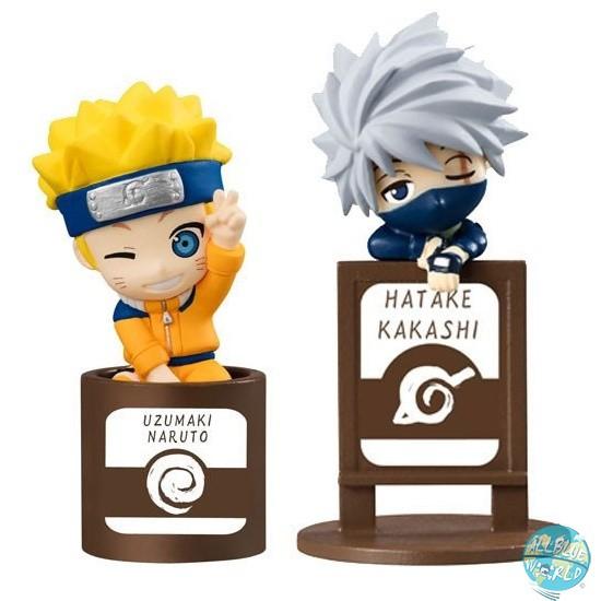 Naruto Shippuuden - Naruto & Kakashi Minifiguren - Ochatomo Serie 2er-Set: MegaHouse