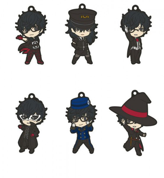 Persona 5 Dancing In The Starlight - Schlüsselanhänger Nendoroid Plus 6er-Pack: Good Smile Company