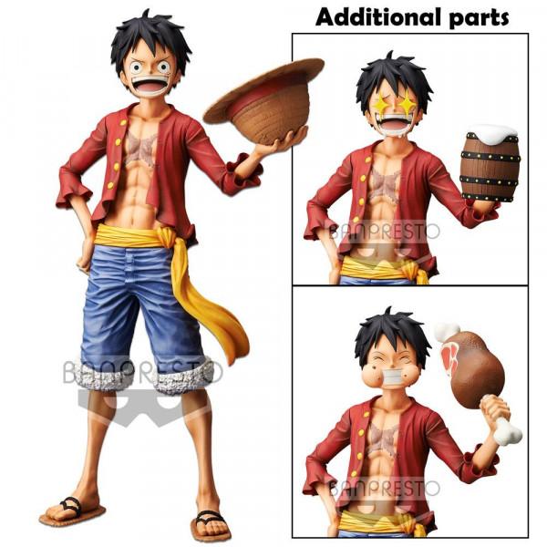 One Piece - Ruffy Figur / Grandista Nero: Banprest