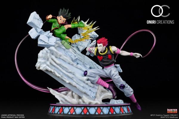 Hunter x Hunter - Gon vs Hisoka Diorama / Battle at the Heavens Arena: Oniri Creations