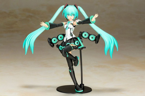 Hatsune Miku Actionfigur / Frame Arms Girl Plastic Model Kit: Taito