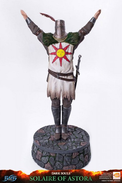 Dark Souls - Solaire von Astora Statue: First 4 Figures