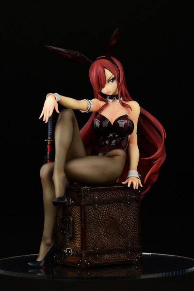 Fairy Tail - Erza Scarlet Statue / Bunny Girl Style: Orca Toys
