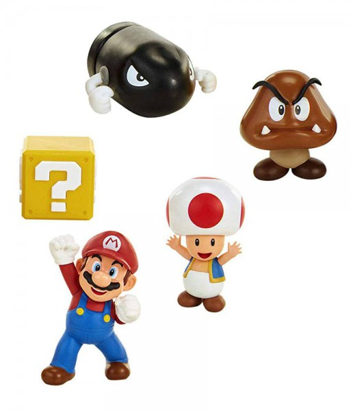 World of Nintendo - New Super Mario Bros. U Minifiguren 5er-Pack/ Eichenhain: Jakks Pacific