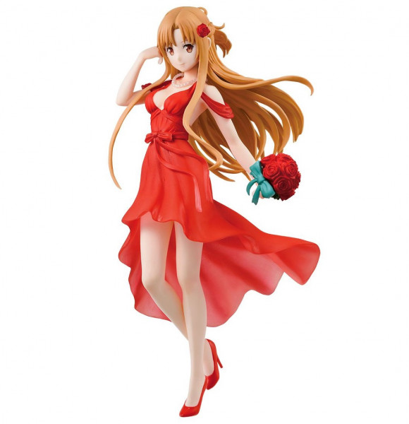 Sword Art Online - Asuna Figur / Ichibansho / Party Dress: Bandai Spirits