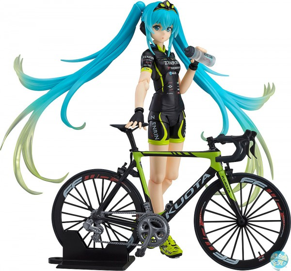 Racing Miku 2015 - Racing Miku Figma - Racing TeamUKYO Version: Max Factory