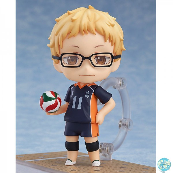 Haikyu!! Second Season - Kei Tsukishima Actionfigur - Nendoroid: Orange Rouge
