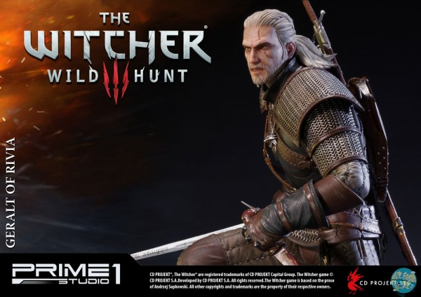 Witcher 3 Wild Hunt - Geralt of Riva Statue - limited Edition: Prime 1 Studio