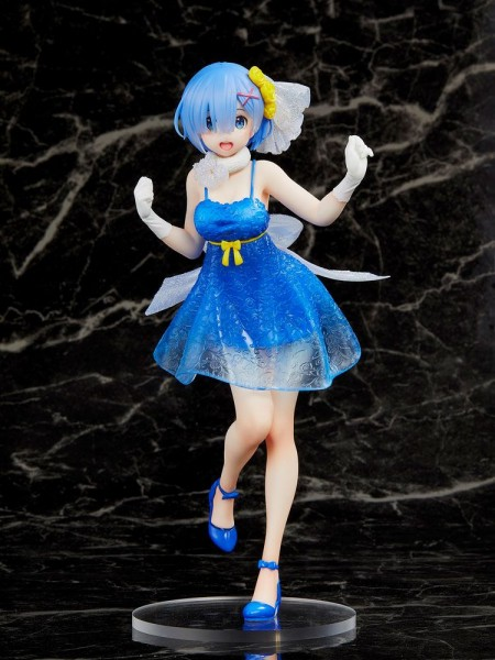 Re:Zero Starting Life in Another World - Rem Figur / Clear Dress Version: Taito