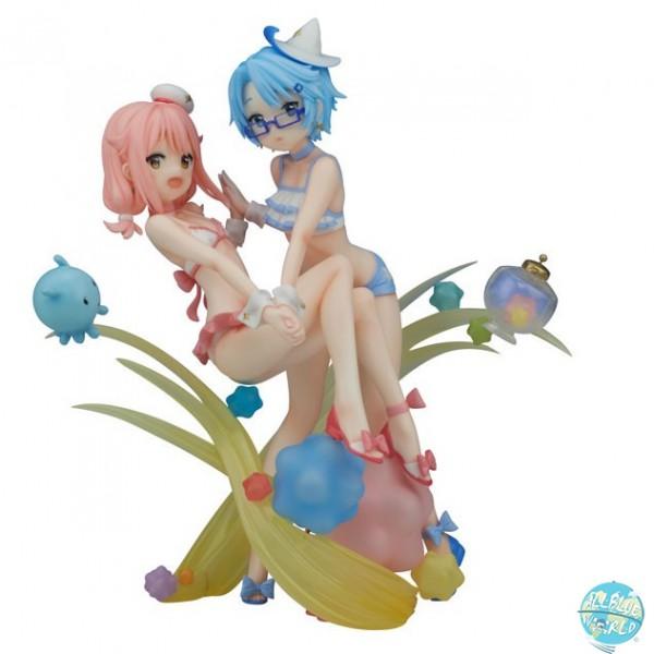 Wish Upon the Pleiades - Subaru & Aoi Statue - Swimwear Version: Flare