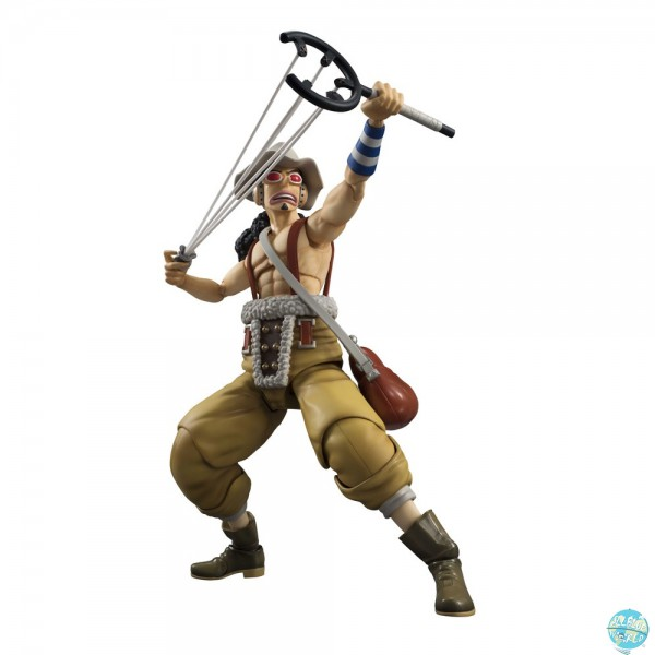 One Piece - Lysop Actionfigur - Variable Action Heroes: MegaHouse