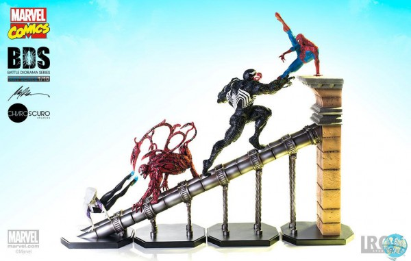 Marvel Comics - Battle Diorama: Iron Studios